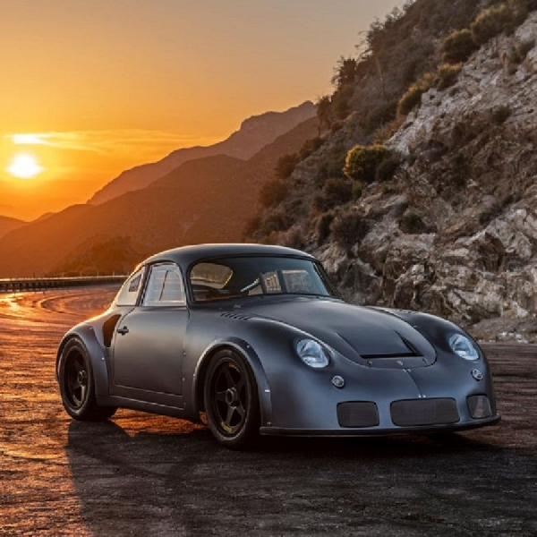 Modifkasi Porsche 356 Outlaw, Twin Turbo Tenaga 400 hp
