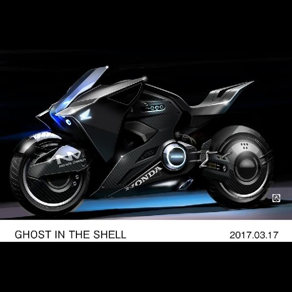 Moge Honda Baru Ikut Serta Film Ghost in the Shell