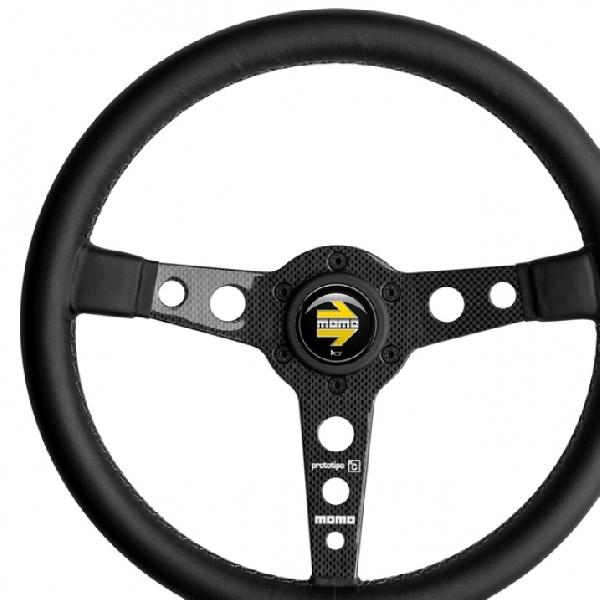 MOMO Prototipo Carbon 6C - Kental Dengan Kesan Racing