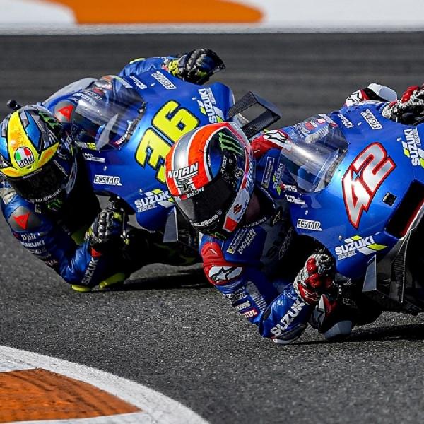 MotoGP: Monster Energy Bakal Dukung Suzuki di MotoGP Mulai 2021
