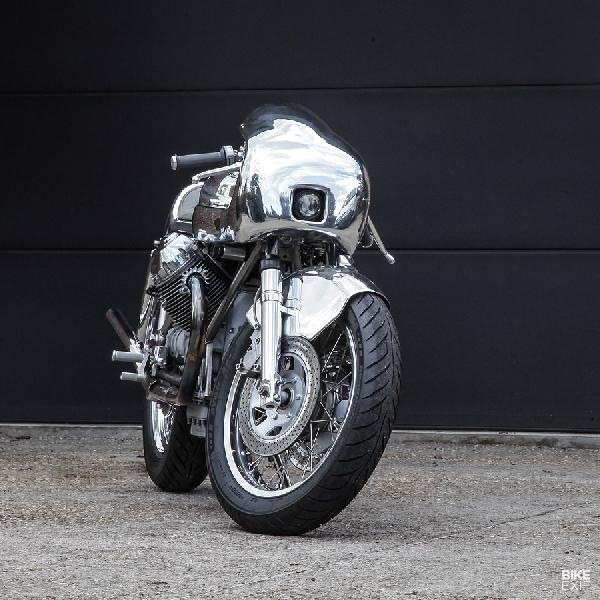 Master of Metal: Moto Guzzi 1000SP dari Shiny Hammer