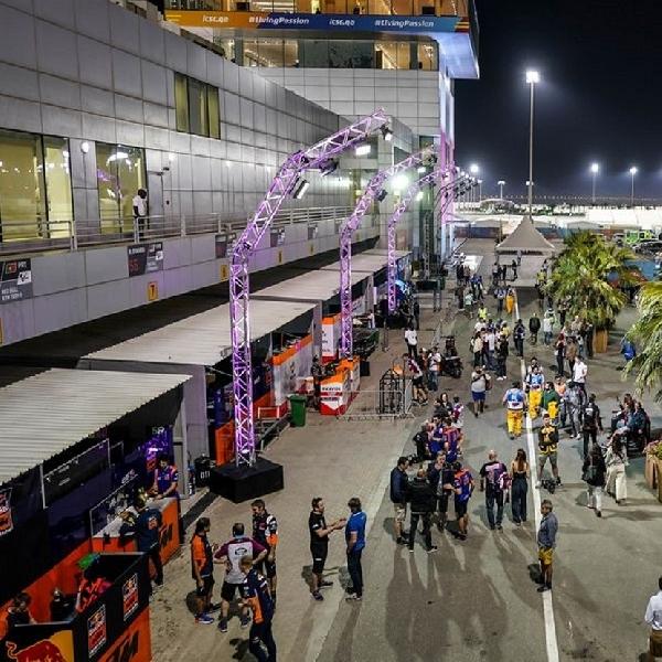 MotoGP: MotoGP Bakal Terapkan 'Lockdown' UntukPaddock di Qatar