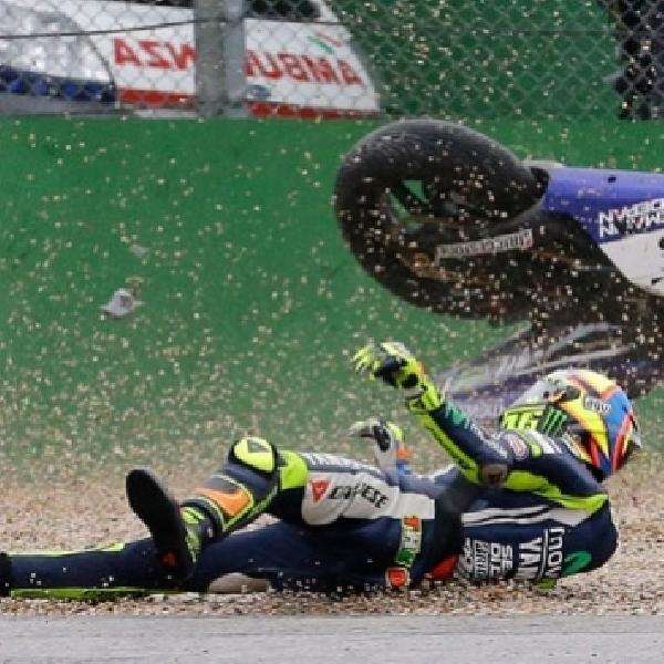 MotoGP: Insiden Terjatuhnya Rossi Membuat Marquez Juara MotoGP 2016