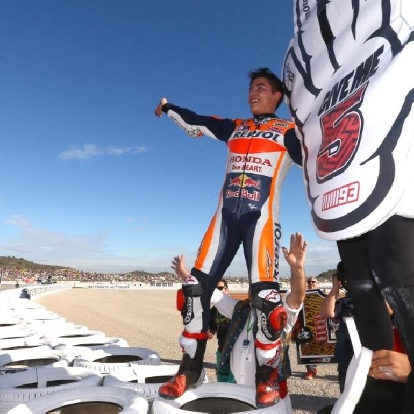 MotoGP: Marquez Banyak Alami Kesalahan di Valencia