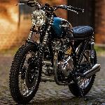 Motor Custom Kawasaki KZ750 nan Liar