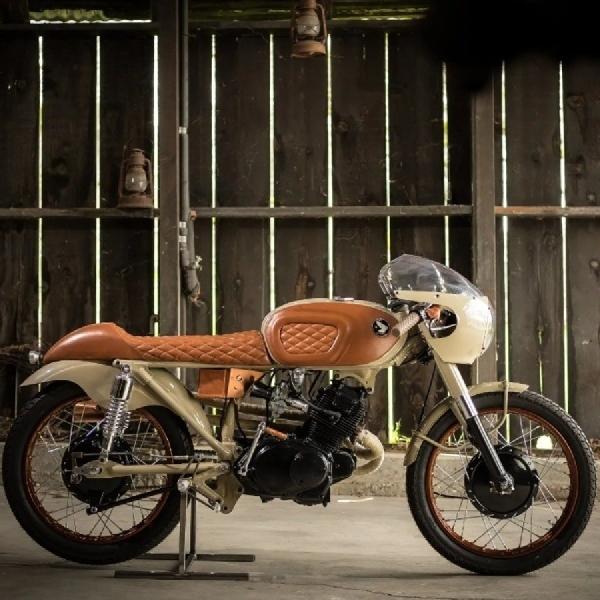 "Simak Kemegahan Motor Kustom Honda CB610 ""Penny Racer"""