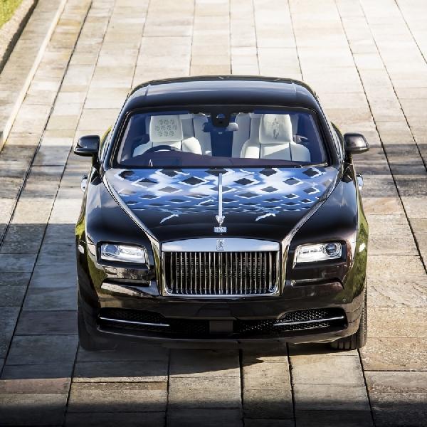 Rolls Royce Wraiths Terinpirasi Musik Inggris