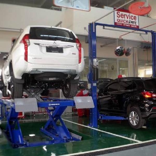 Musim Libur, Bengkel Resmi Mitsubishi Tetap Buka