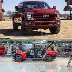 Musk Tegaskan Tesla dan Ford Jadi Produsen Mobil AS Anti Bangkrut