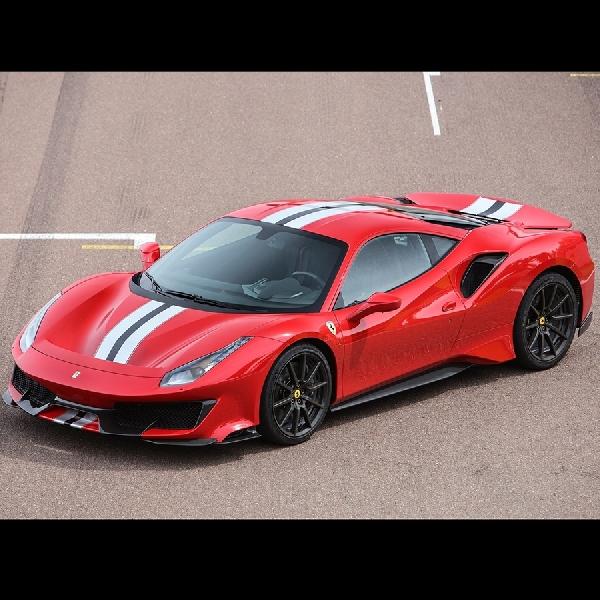 Ferrari Persiapkan Supercar Mid Engine Hybrid dalam Model 488 Pista