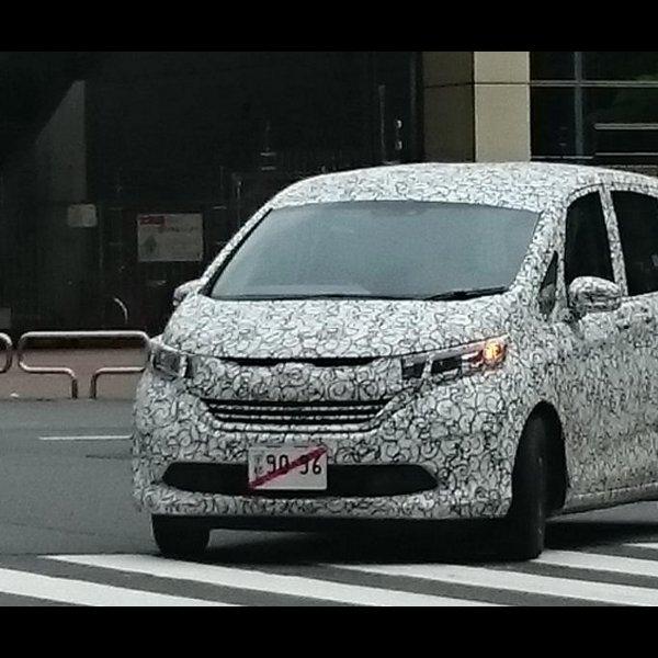 Generasi Baru Honda Freed 'Kepergok' Kamera Sedang Lakukan Pengujian