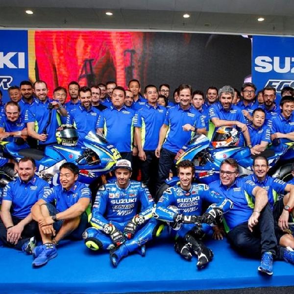 Setelah Launching Motor Suzuki Ecstar, Iannone Tercepat di Tes Sesi Pertama Sepang