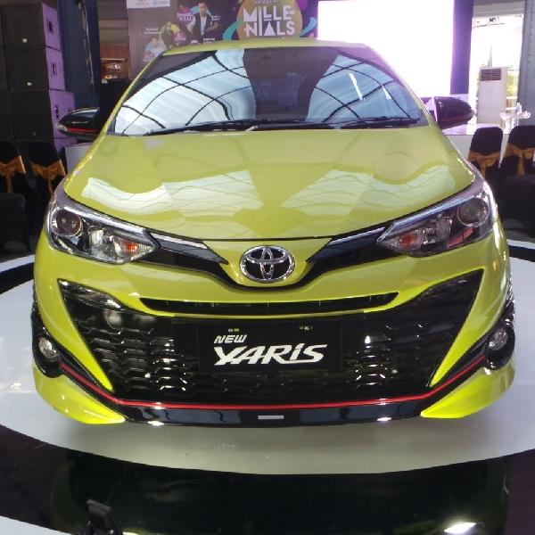 New Toyota Yaris 2018 yang  Makin Futuristik