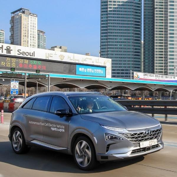 Hyundai Nexo Fuell Cell Jelajah Korea Selatan dengan Level 4 Autonomy