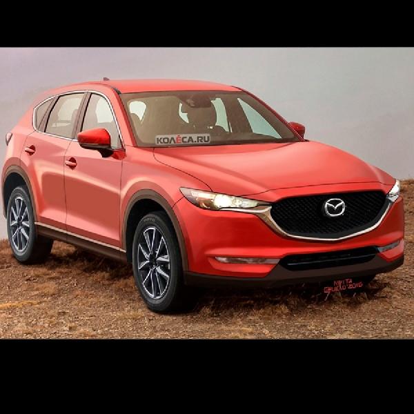 Rendering Mazda CX-5 Generasi Selanjutnya