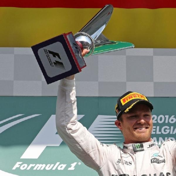 F1: Untuk pertama kalinya Rosberg Raih Podium Pertama di GP Belgia
