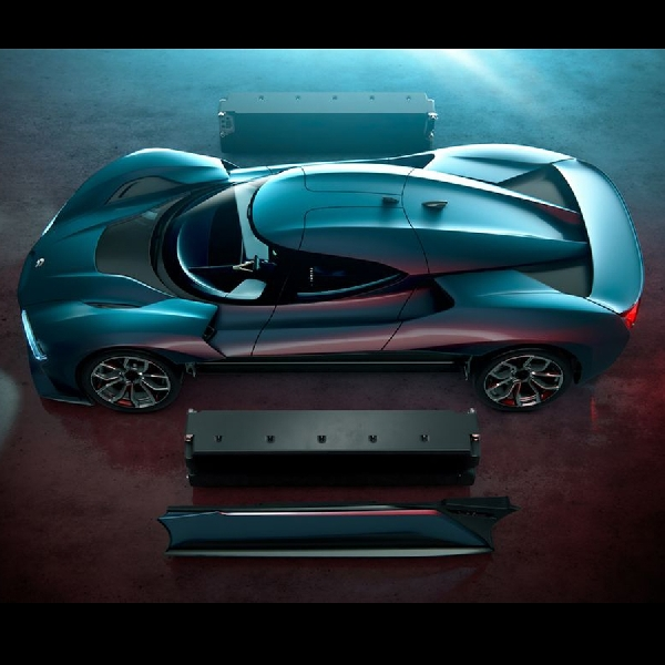 NIO EP9, Fastest Electric Supercar