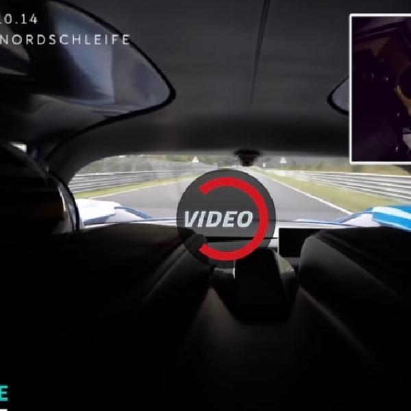 NIO EP9 Berusaha Cetak Rekor di Nurburgring