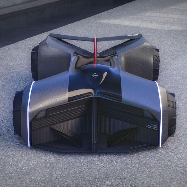 Konsep GT-R (X) 2050 Hasil Kreasi Nissan Design