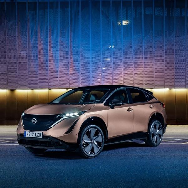 Nissan Ariya Tampilkan Warna Sejati dan Ramah Lingkungan