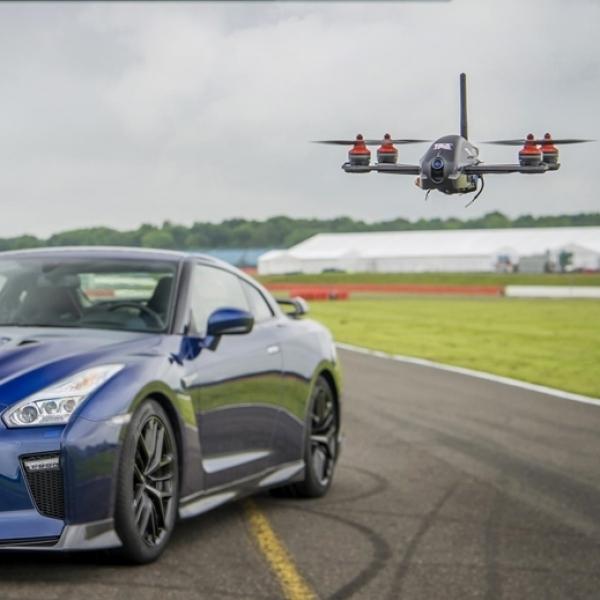 Nissan Ciptakan GT-R Drone