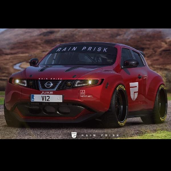 Nissan Juke Terlihat Lebih Maskulin