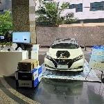 Nissan Bawa Mobil Listrik Leaf di Kedutaan Besar Jepang