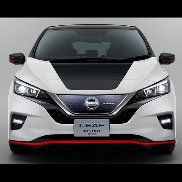 Nissan Hadirkan Konsep Nissan leaf Nismo
