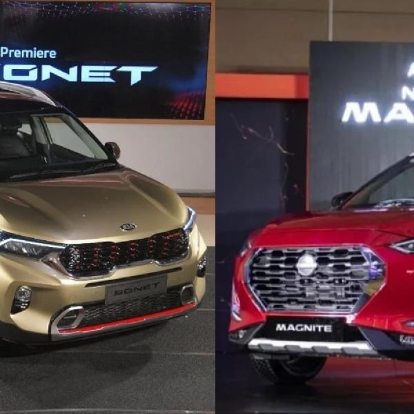 Nissan Magnite vs Kia Sonet: Pertempuran Para Pendatang Baru!