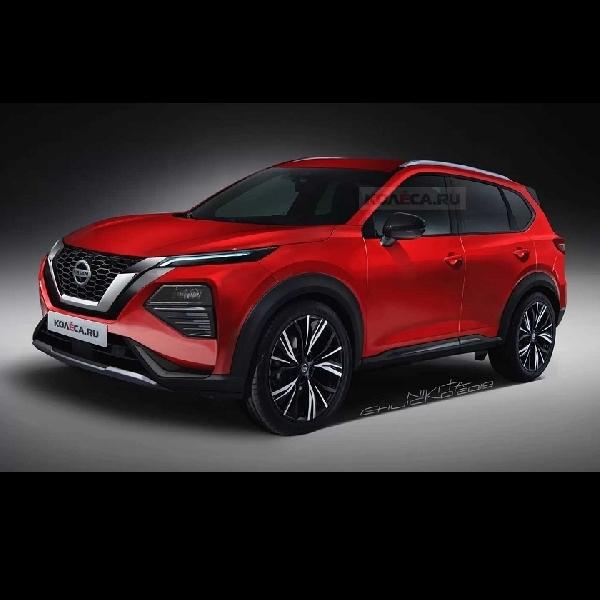 Bocoran Gambar Nissan Rogue 2021 Mulai Tersebar