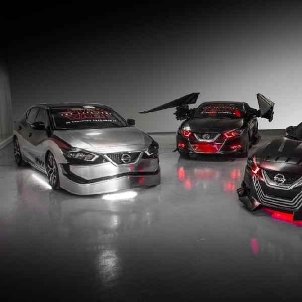 Nissan Permak Desain 6 Mobil Bertema Star Wars