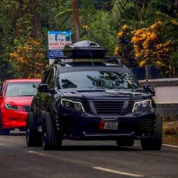 Modifikasi Nissan Terrano - Banteng Jalanan