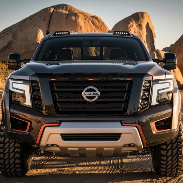 Nissan Titan Warrior Concept Tampil Lebih Macho