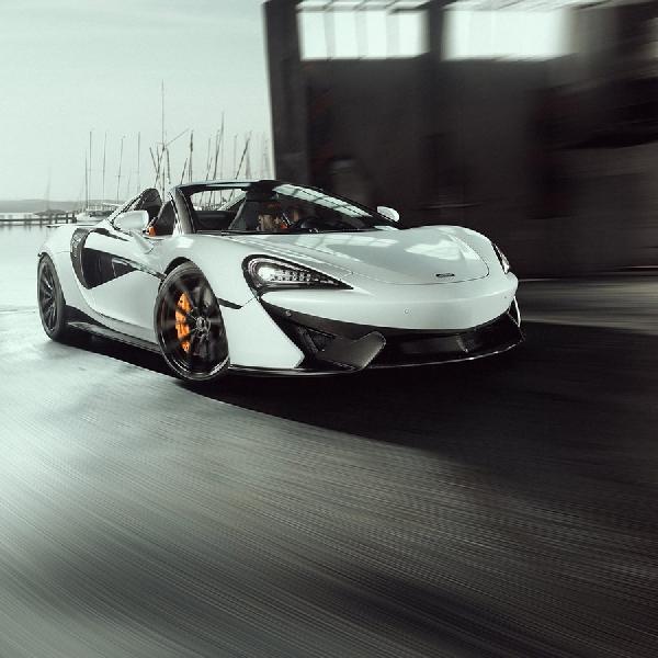 Novitec Tingkatkan Kemampuan McLaren 570S Spider