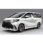 Desain Bodi Samping Lexus LM Tak Ada Beda dengan Toyota Alphard