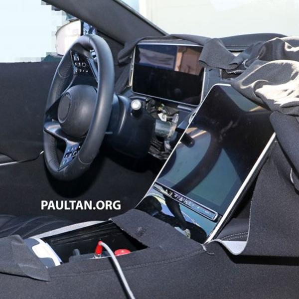 Layar Besar Bakal Memenuhi Interior Mercedes-Benz S-Class Terbaru