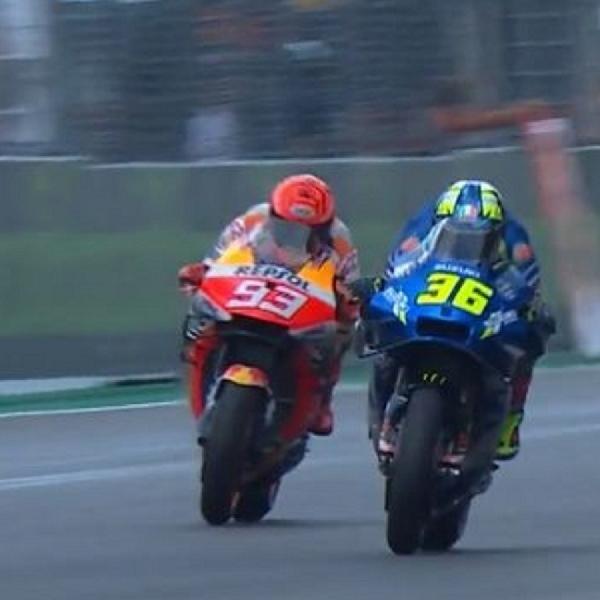 MotoGP: Nyaris Celaka Ketika Salip Marc Marquez, Joan Mir Terpaksa?