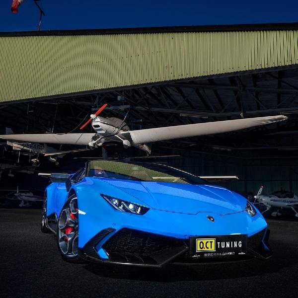 OC.T Tuning Bikin Lamborghini Huracan Lebih Ngacir