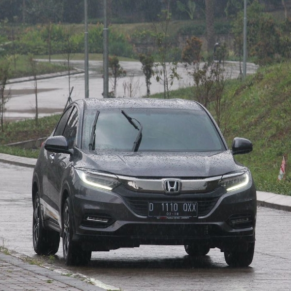 HR-V ini jadi Timer Car di 2XU Compression Run Indonesia 2018