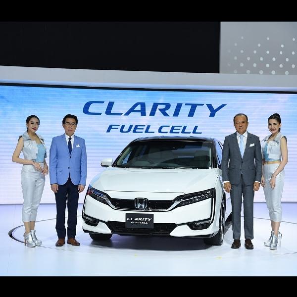 Honda Pamerkan Sedan Clarity Fuel Cell di Bangkok Auto Show 2018
