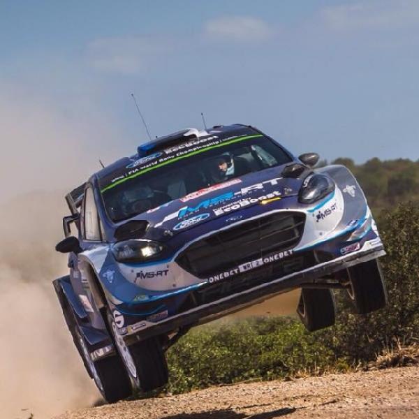 WRC: Ott Tanak Rebut Kemenangan Perdana di Italia