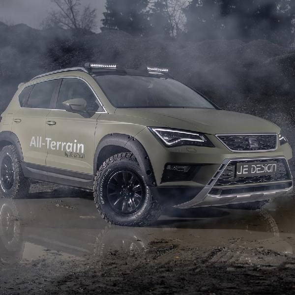 JE Design Sulap Seat Ateca SUV Menjadi Lebih Ganas