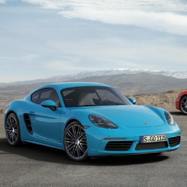 Porsche tawarkan 718 bertenaga 250hp untuk Cina