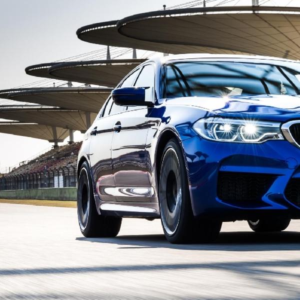 BMW M5 Catat Rekor Baru di Sirkuit Shanghai