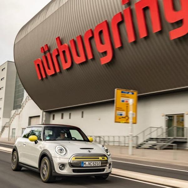 Mini Cooper SE Diuji Di Nurburgring Hanya dengan Satu Pedal