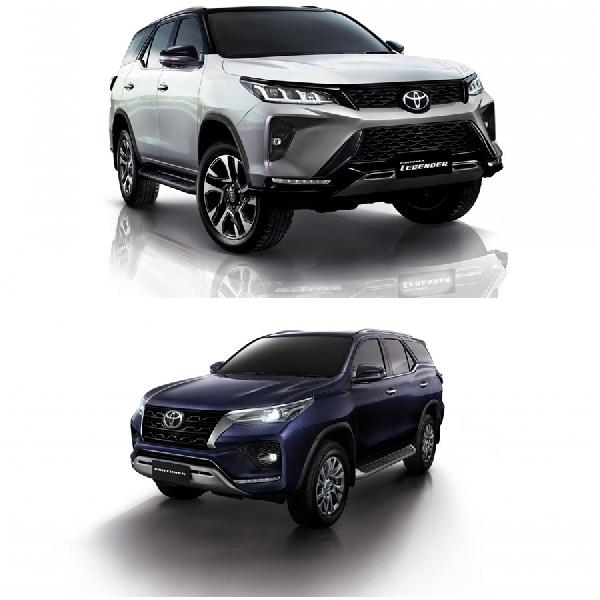 Duo Toyota Fortuner dan Legender Meluncur di Thailand, Simak Perbedaannya