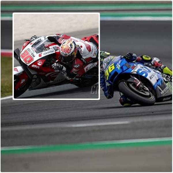 Tercepat, Nakagami Asapi 6  Pembalap Spanyol di FP1 MotoGP Styria