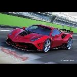 Paket Aftermaket Body Kit Misha Design, Buat Ferrari 488 Makin Gahar