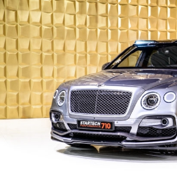 Paket Modifikasi Bentley Bentayga ala Startech