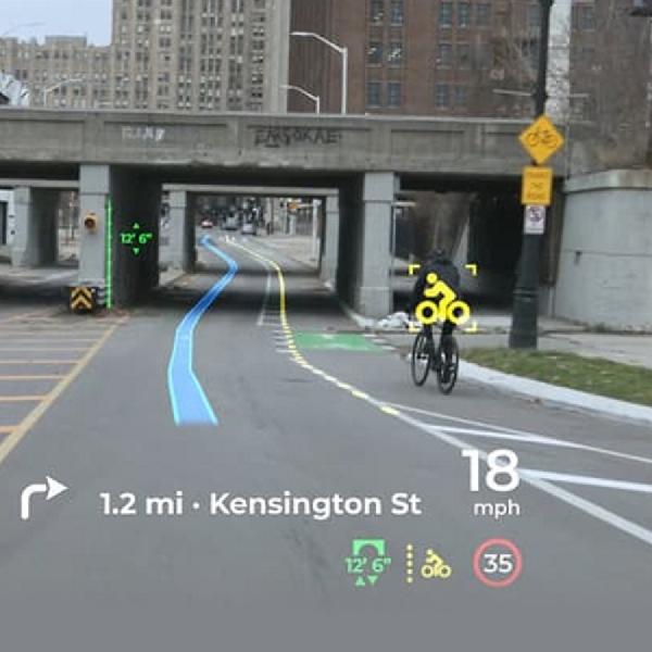 Panasonic Perkenalkan Tampilan Head-Up Yang Disempurnakan AI